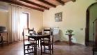 Soggiorno degli appartamenti per vacanze vicino Roma