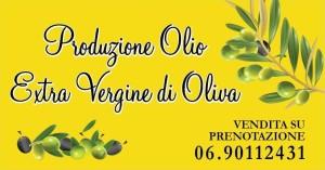 Vendita e produzione di olio extravergine di oliva da agricoltura biologica